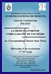 15-10-25 - Actividad Academia Nacional de Medicina