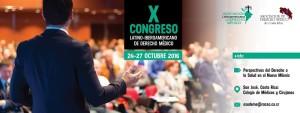 X CONGRESO LTINOAMERICANO DE DERECHO MÉDICO